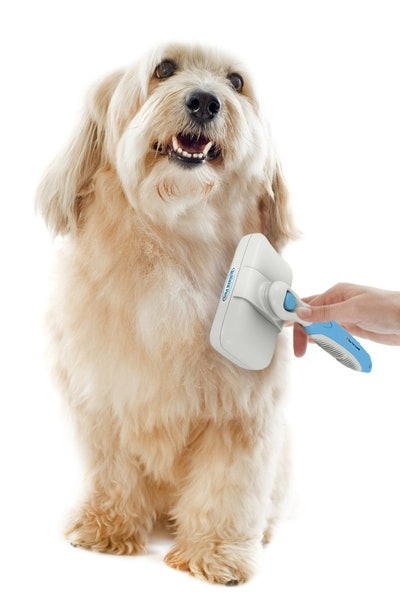 The Pet Portal Pro Quality Self Cleaning Slicker Brush