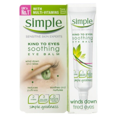 Simple Kind To Eyes Eye Balm Soothing