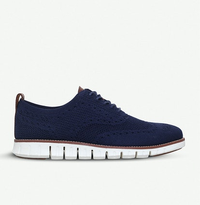 Zerogrand Stitchlite knit oxford shoes