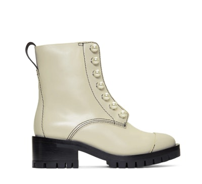 Grey Hayett Pearl Boots