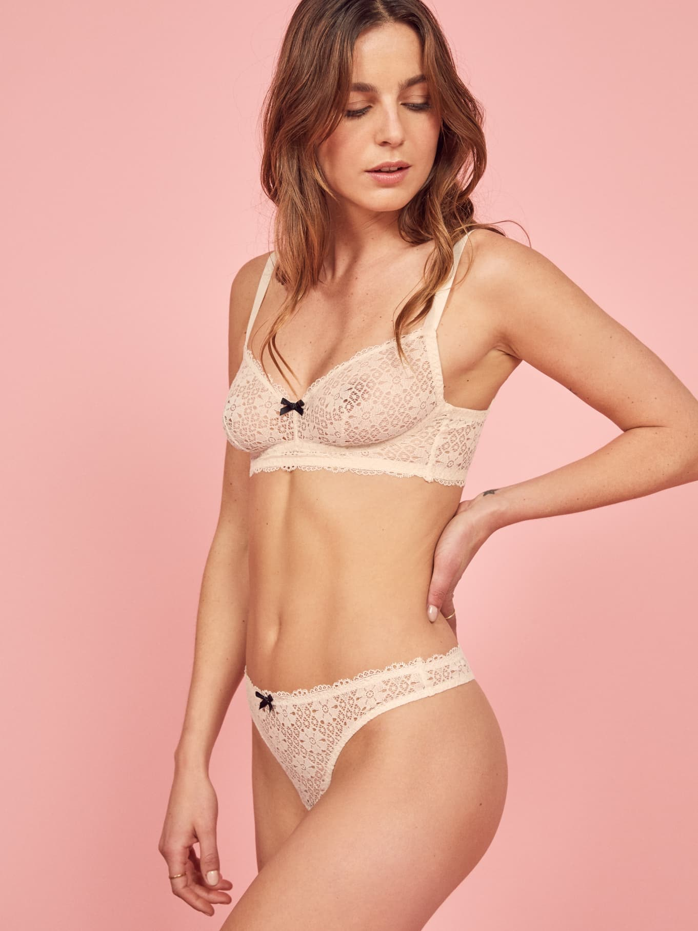 12b89cb5bfe79 Reformation's Cosabella Collection Features Lingerie That Deserves To Be  Shown Off