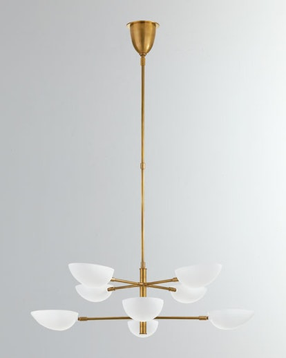 AERIN Graphic Large Two-Tier Chandelier