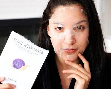 SKEDERM Snail Jelly Face Mask