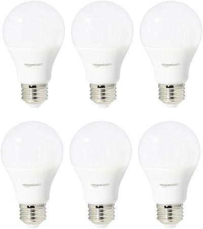 AmazonBasics Daylight LED Light Bulbs (6 Pack)