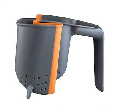 Kitchen Maestro Collapsible Silicone Colander/Strainer