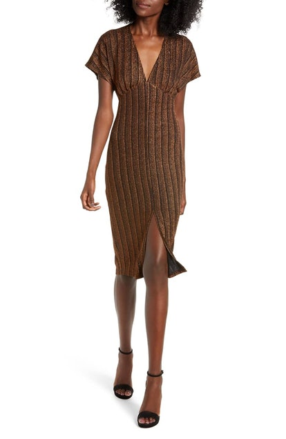 Sparkle Rib Knit Dress