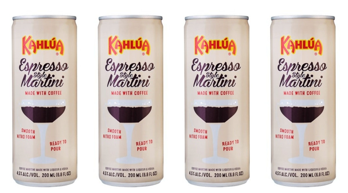 Kahlua Is Releasing Canned Espresso-Style Martinis Soon, No Cocktail Shaker Required