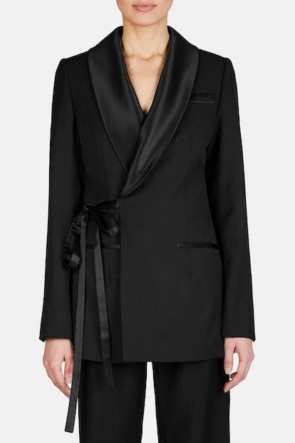 Tuxedo Wrap Jacket