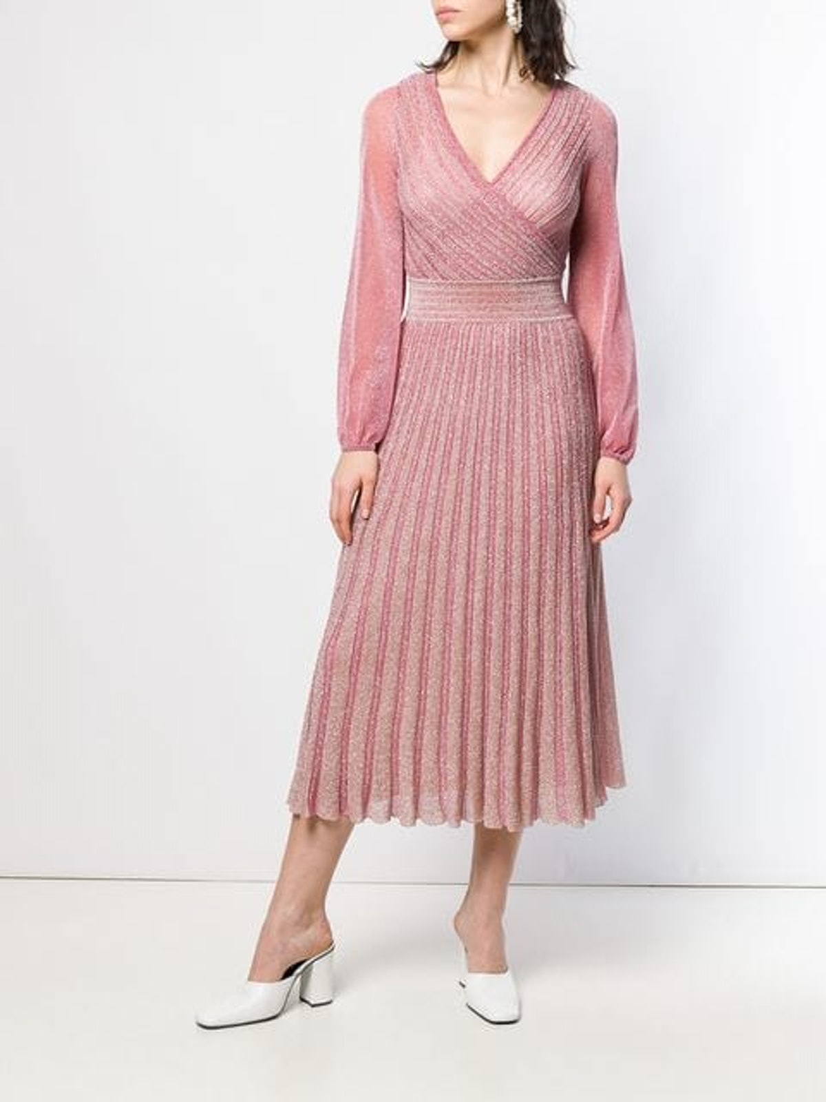 Glitter Knitted Midi Dress