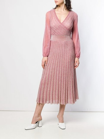 Glitter Knitted Midi Dress
