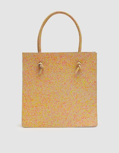 Maryam Nassir Zadeh Anais Structured Tote in Tangerine