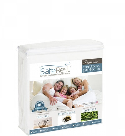 SafeRest Premium Queen-Size Mattress Protector