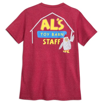 Al's Toy Barn Staff T-Shirt for Men - Toy Story