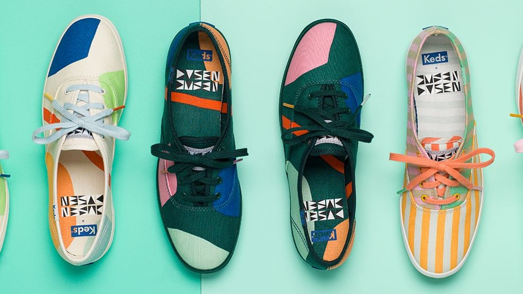The Keds x Dusen Dusen Collection Is The Definition Of Happy Feet 019a4cc42