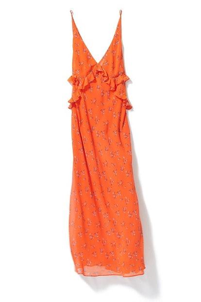 UO Heidi Ruffle Maxi Dress