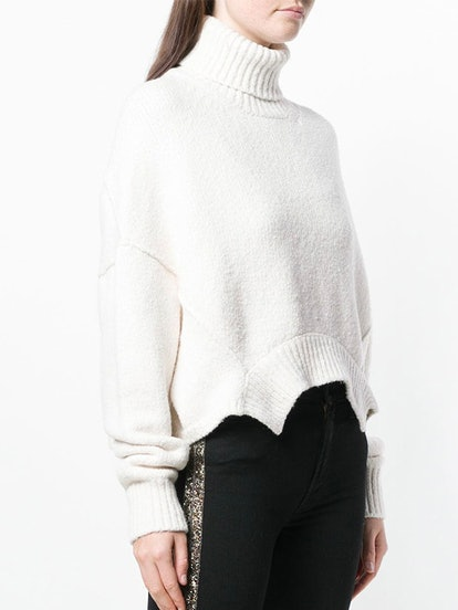 Asymmetric Hem Sweater