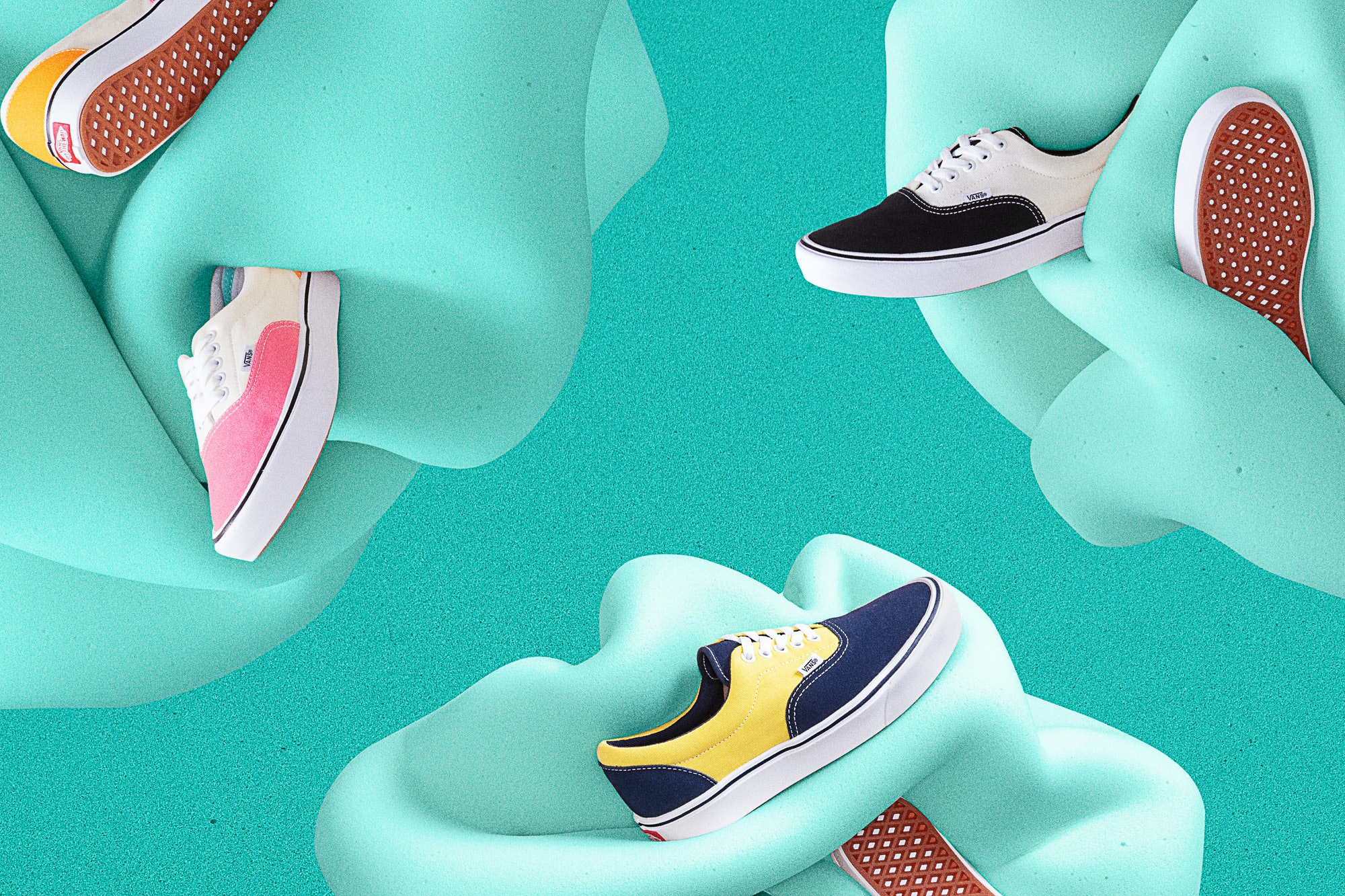 The Vans ComfyCush Era Collection Has Basically Turned