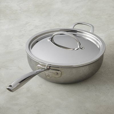 Williams Sonoma Signature Thermo-Clad™ Stainless-Steel Essential Pan