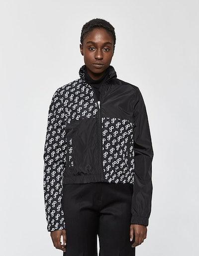 Saks Potts Branded Athletic Track Jacket