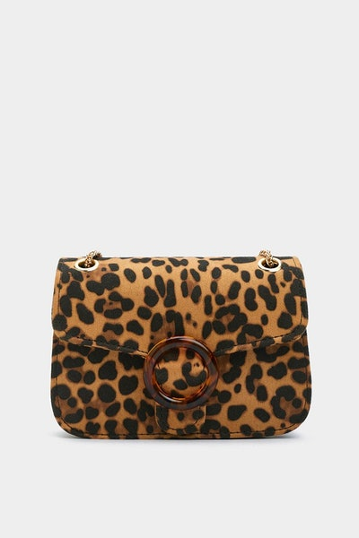 Want Are You Purr Real Leopard Bag
