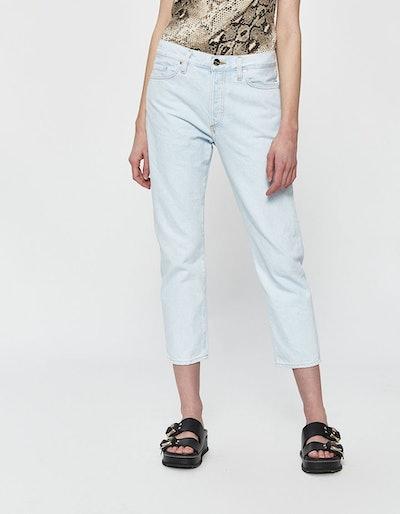 Low Slung Jean in Nineties Blue