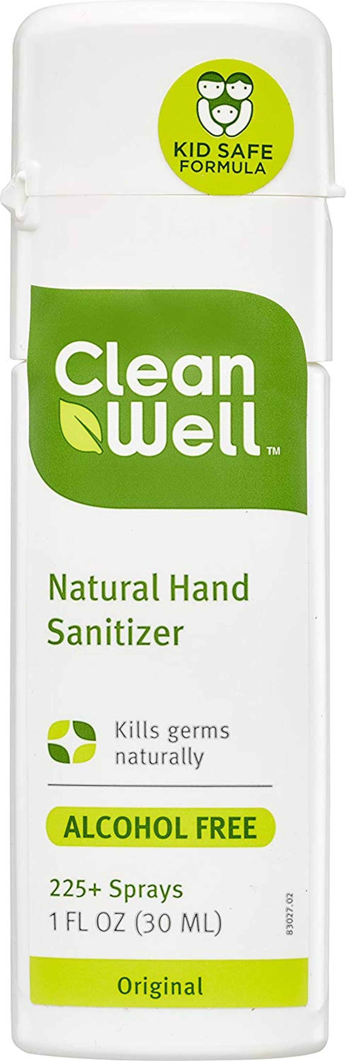 CleanWell Botanical Hand Sanitizer