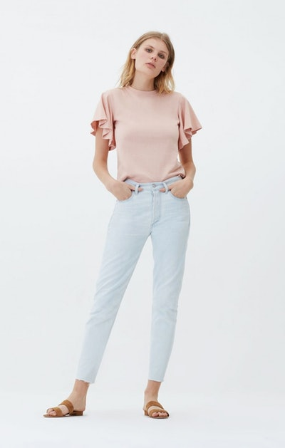 Liya High Rise Classic Fit in Unravel