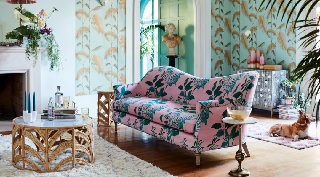 Floral Furniture Is About To Become A Staple In Your Home According