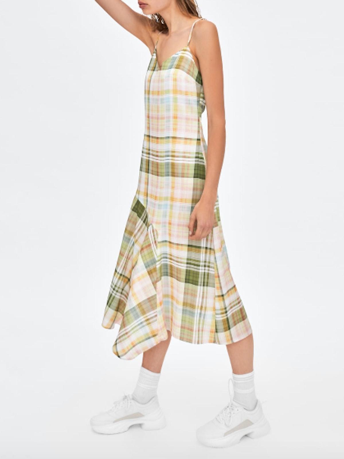 Lingerie Plaid Style Dress