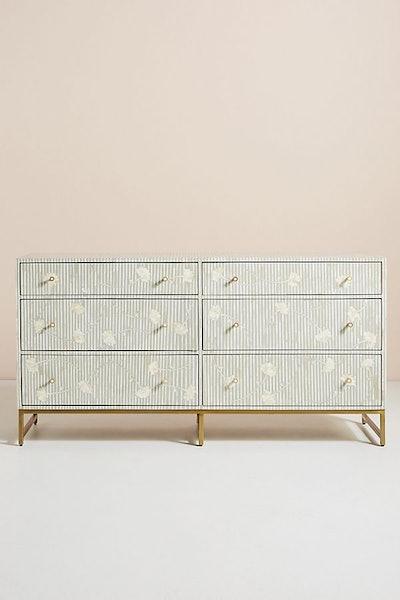Ada Inlay Six-Drawer Dresser