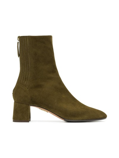 Green Saint Honore 50 Suede Leather Boots