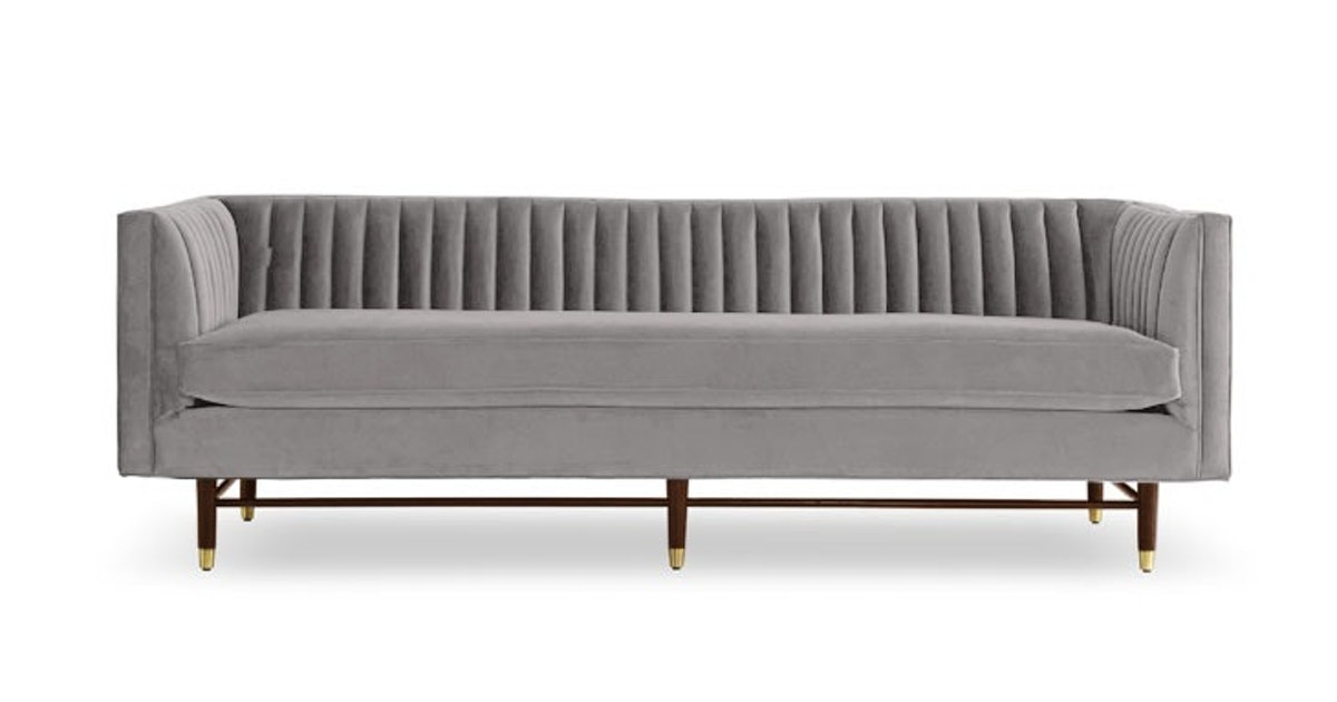 Fabulous Chelsea Sofa Taylor Felt Grey Caraccident5 Cool Chair Designs And Ideas Caraccident5Info
