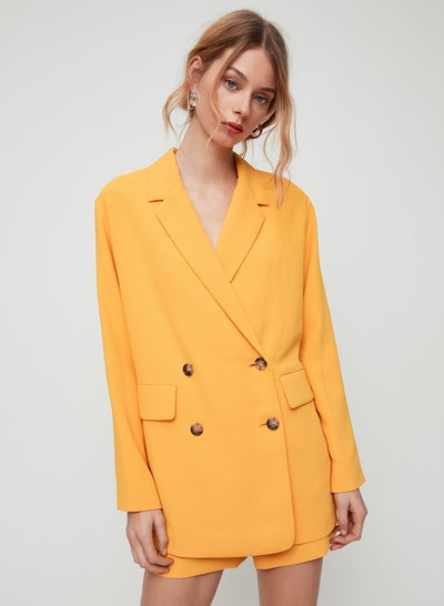 Cherrelle Jacket Oversized, Double-Breasted Blazer