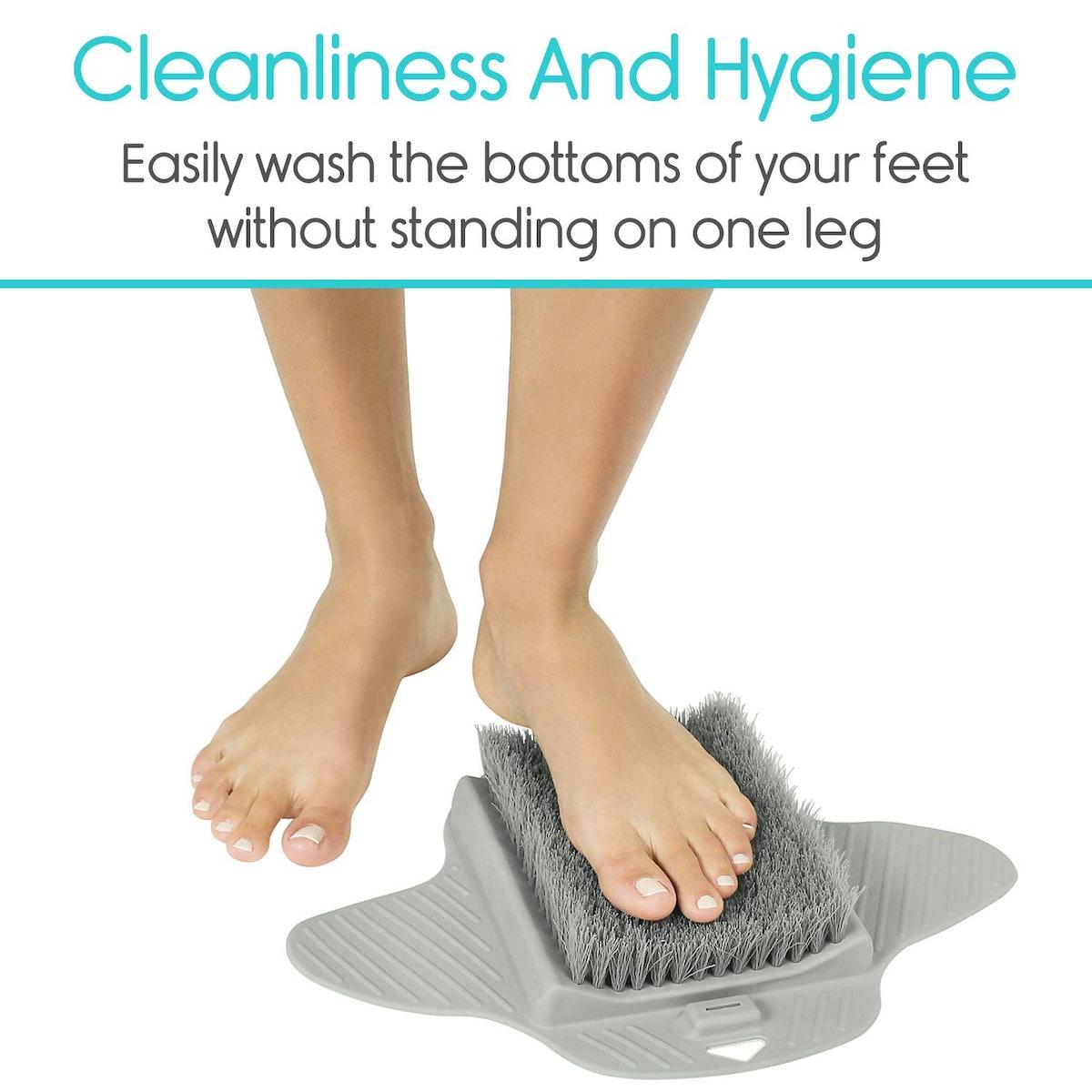 Vive Foot Scrubber Brush