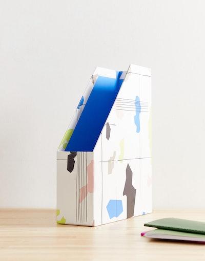 ASOS Supply Minimal Print Magazine Holder