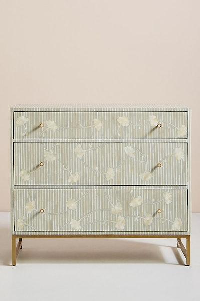 Ada Inlay Three-Drawer Dresser