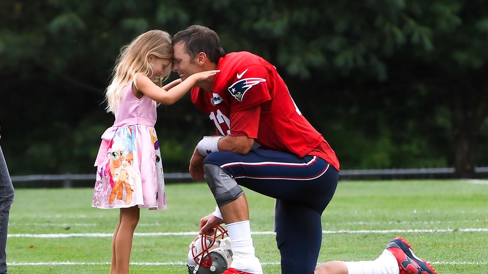 Photos Of Tom Brady's Family At The Super Bowl Show They're His