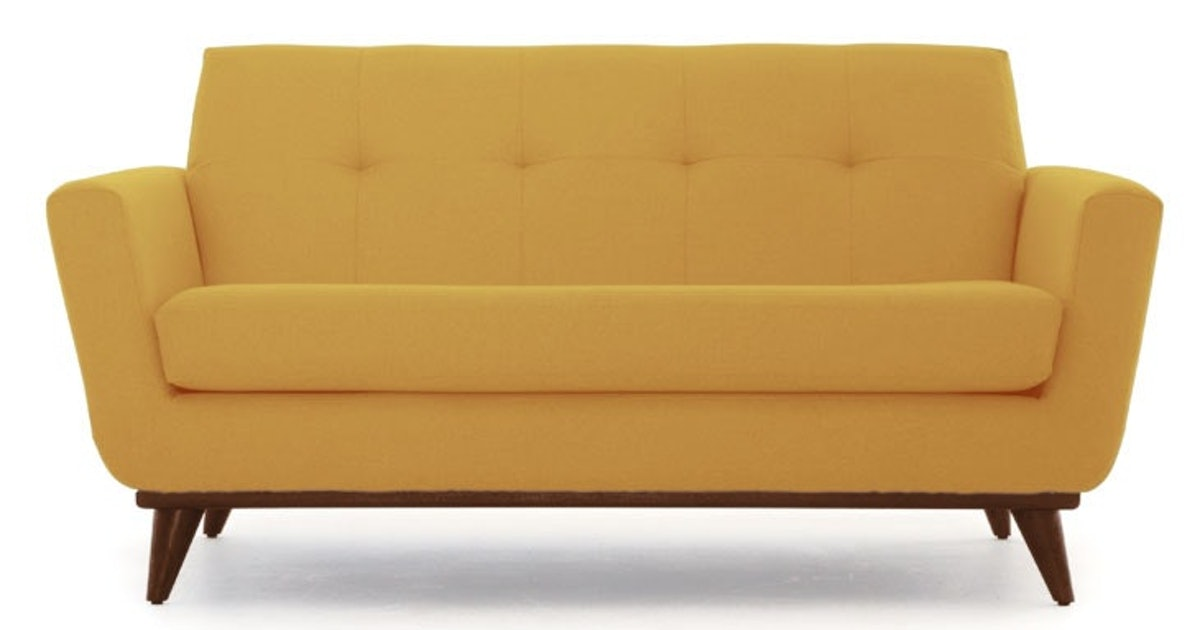 Fabulous Hughes Apartment Sofa Taylor Golden And Mocha Caraccident5 Cool Chair Designs And Ideas Caraccident5Info