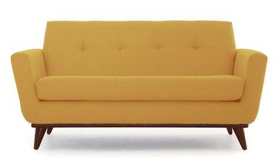 Hughes Apartment Sofa, Taylor Golden and Mocha