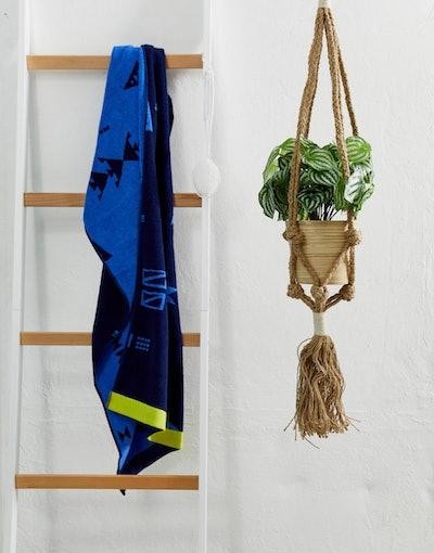 ASOS Supply Macrame Tassel Hanging Plant Pot