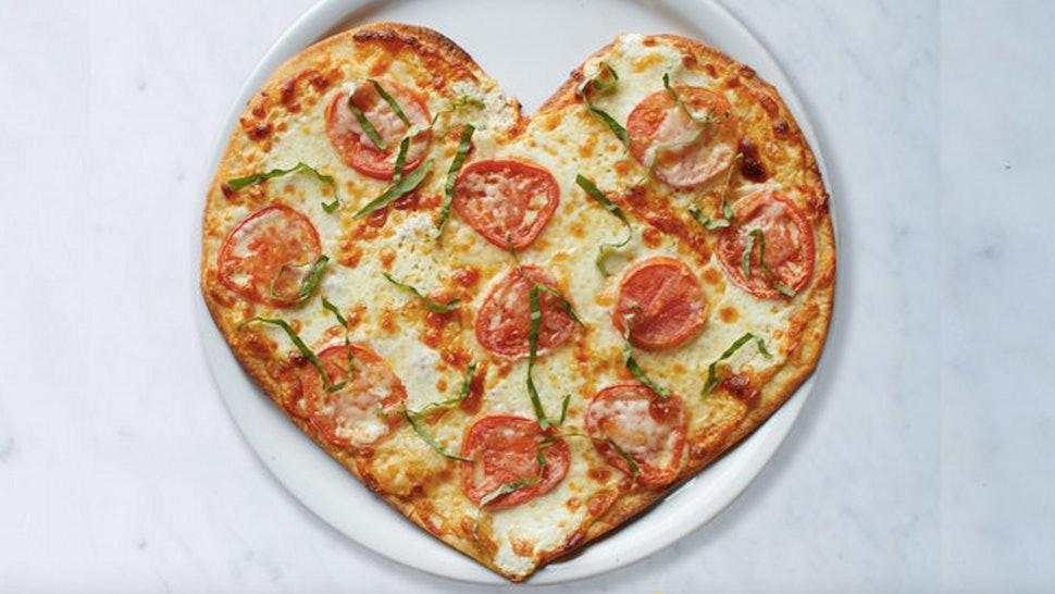 California Pizza Kitchen's Heart-Shaped