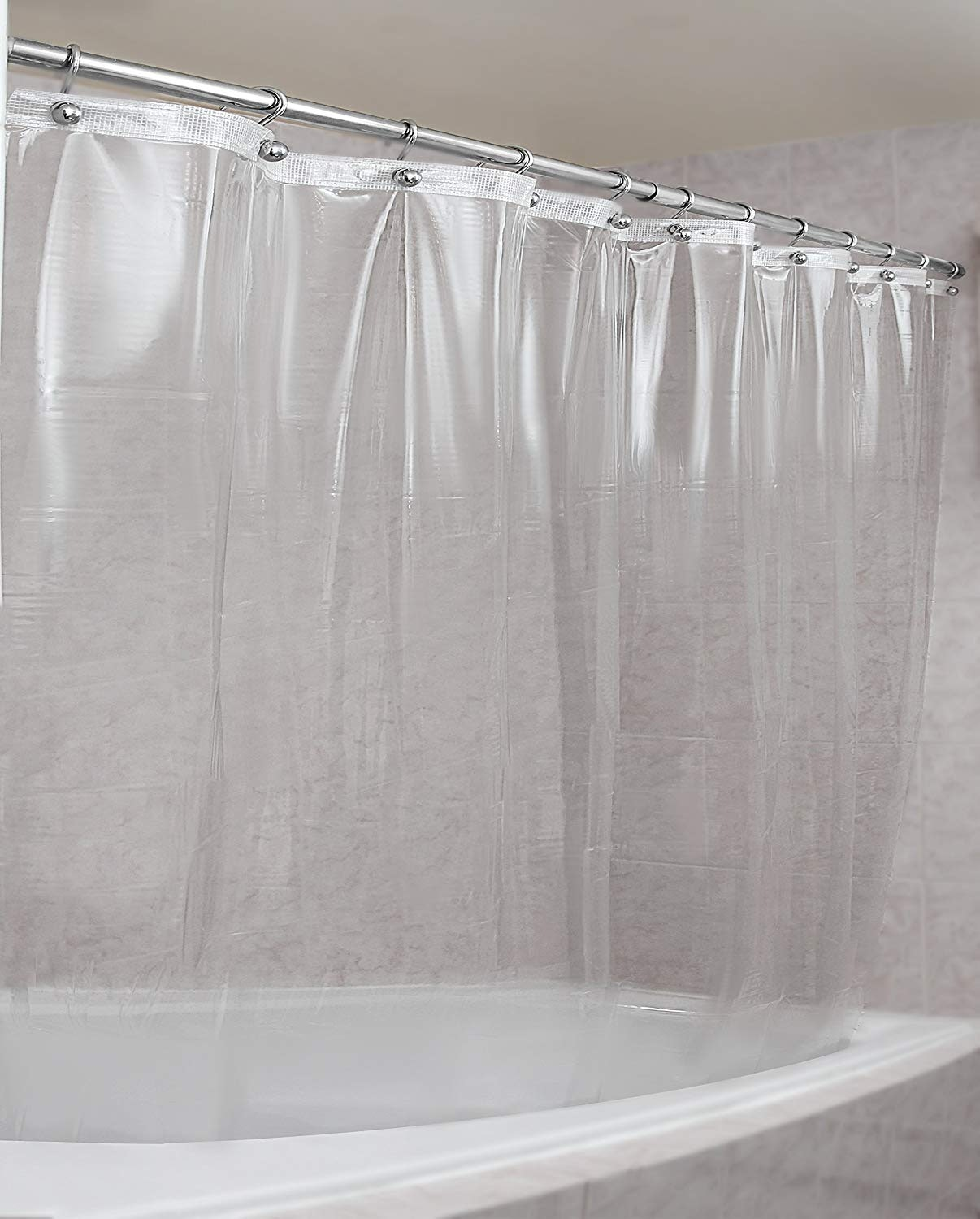 The 4 Best Shower Curtains For Small Bathrooms