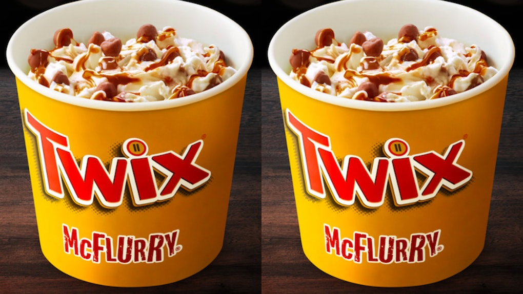 The McDonald's Twix McFlurry Is Back, So Thank You I'll Have Two