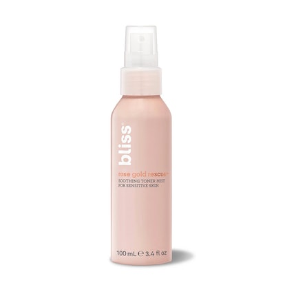 Bliss Rose Gold Rescue Soothing Toner Facial Treatments - 4 fl oz