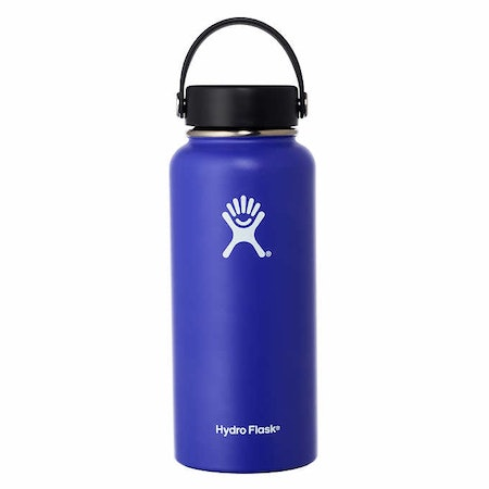 Stainless Steel 32oz Wide Mouth Water Bottle