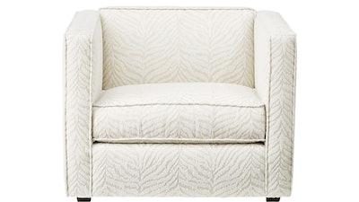 Club Tigre Luxe White Chair