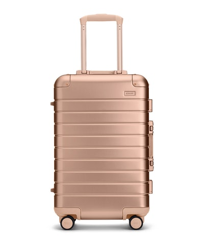 The Bigger Carry-On Aluminum Edition in Rose Gold