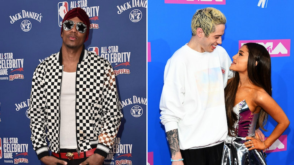 75a18cdcd0 Nick Cannon Shaded Ariana Grande About Pete Davidson   Her