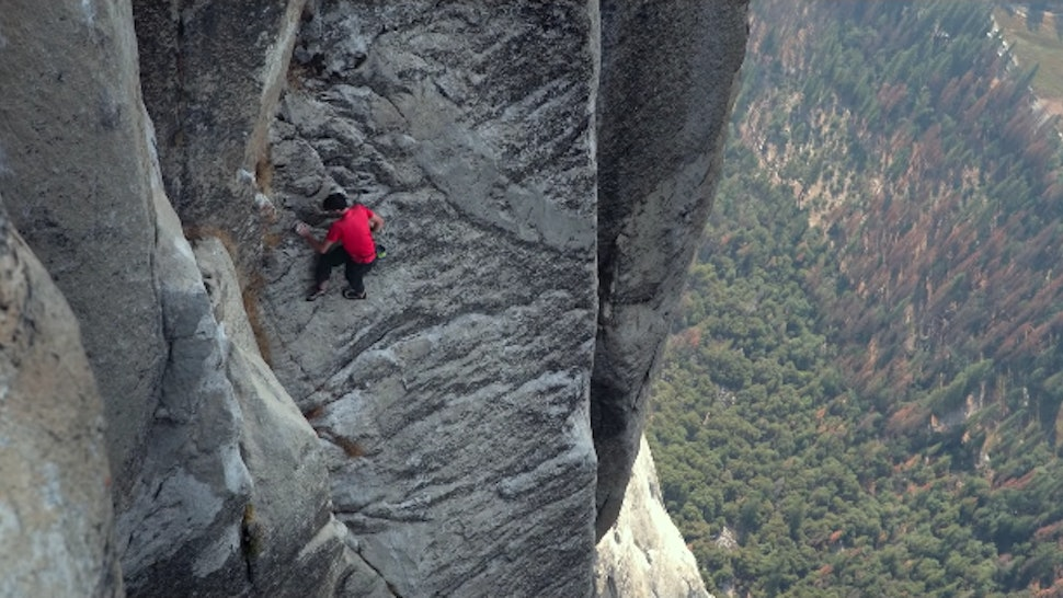 How To Watch 'Free Solo' In The UK, Because This Rock