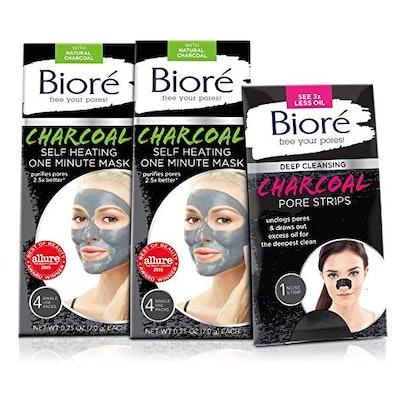 Bioré Self-Heating One Minute Mask (2 pack)